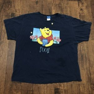 Vintage Winnie The Pooh Double-Sided T-shirt